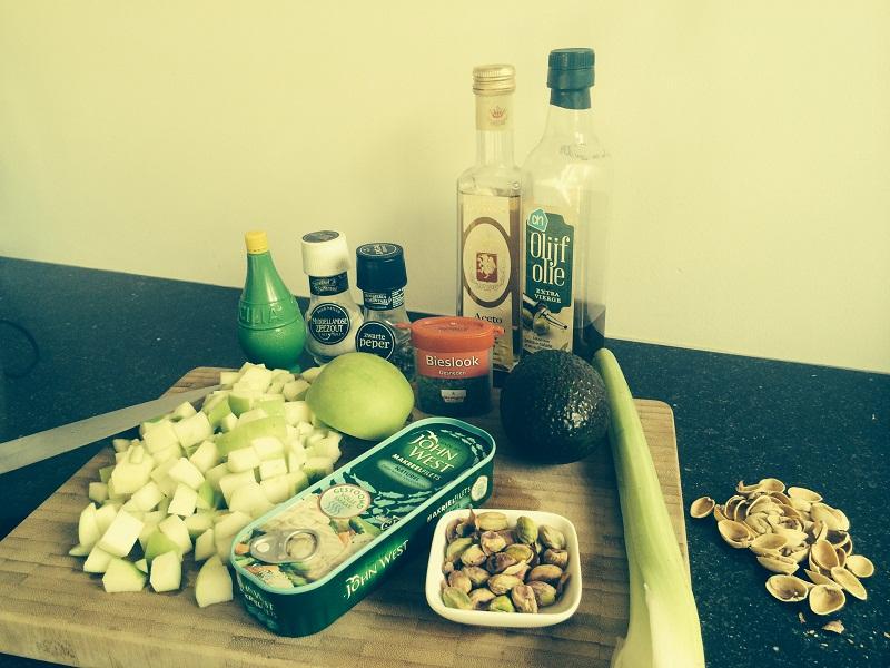 salade makreel appel 1