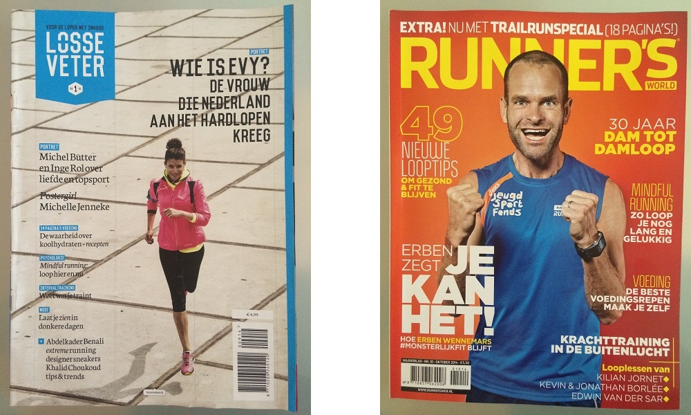 Losse Veter Runnerworld voorkant