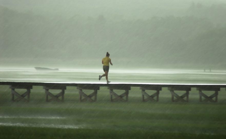 hardlopen in de herfst 2