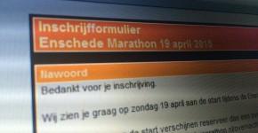 inschrijving Enschede Marathon 2015