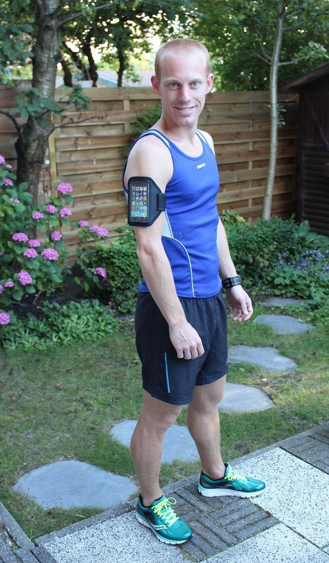 heelhardlopen - sportarmband