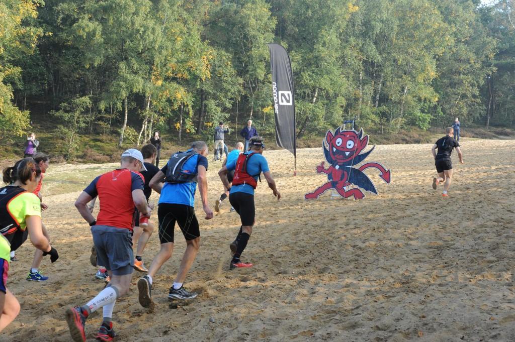 heelhardlopen - Devils Trail Utrecht - heuvel