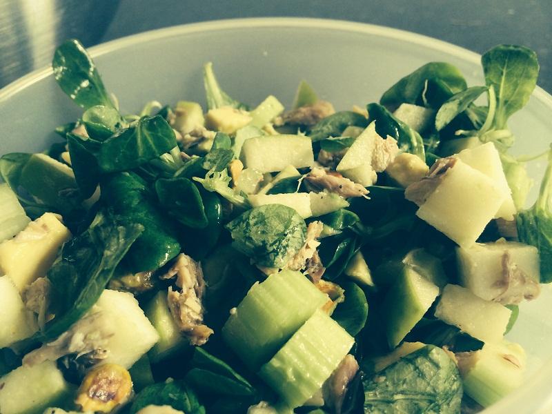 salade makreel appel 5
