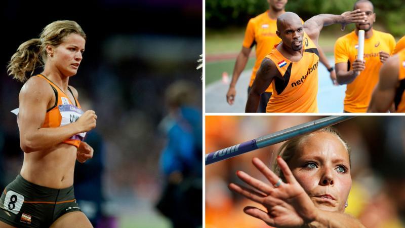 top atletiek op het EK in Zurich