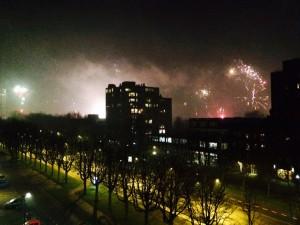 heelhardlopen - Enschede oudejaarsavond