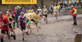 heelhardlopen - marathonweek 1