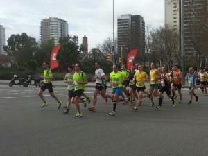 heelhardlopen - halve marathon Barcelona 1