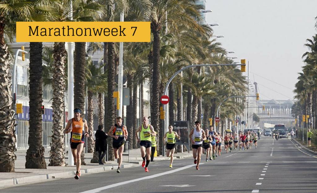 heelhardlopen - marathonweek 7 Barcelona Mitja