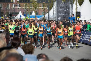 heelhardlopen - Sven Marathon Enschede - start