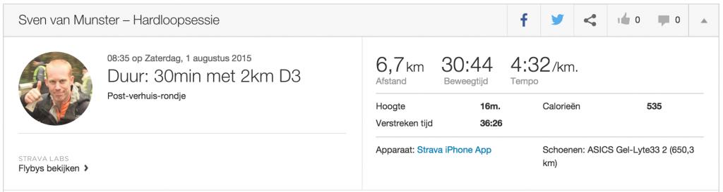 heelhardlopen - fun run Strava attack - run